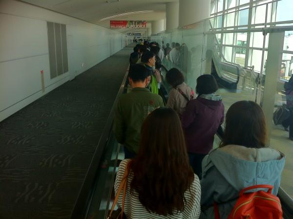 来福する韓国人客