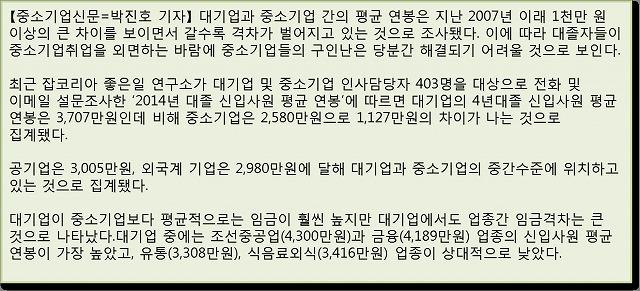 韓国国内の新入社員初任給は、どのくらいか?